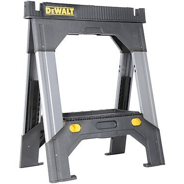 DeWalt® DWST11031 Adjustable Metal Legs Sawhorse, Grey