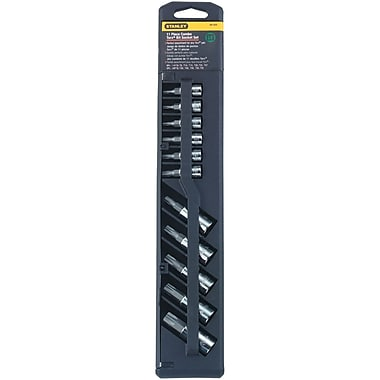 STANLEY® Torx® 11 Pieces Professional Grade Hex Bit Socket Set, 1/4 - 3/8 in