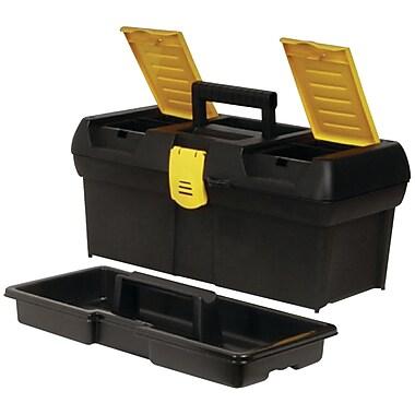 STANLEY® 016011R 2-Lid Organizer Tool Box, Black