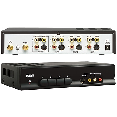 RCA® CRF940 RF Modulator and Video Switcher