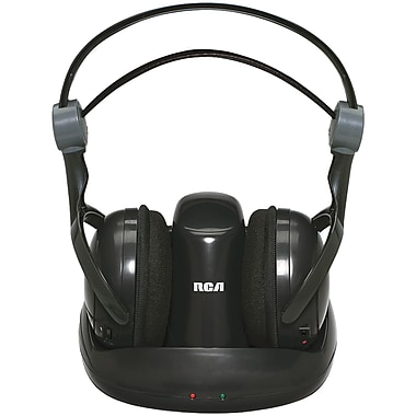 RCA® WHP141 Wireless 900MHz full size headphone