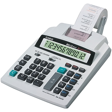 Casio® Printing Calculator, 2.4 Lines/sec