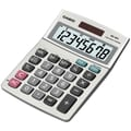 Casio® MS-80S 8-Digit Display Solar Desktop Calculator