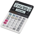 Casio® JV-220 12-Digit Dual Display Compact Desktop Calculator