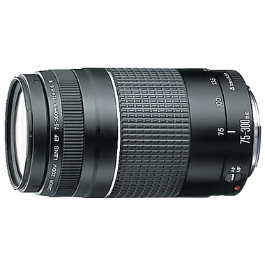 Canon® 6473A003 EF 75 -300mm Telephoto Zoom Lens