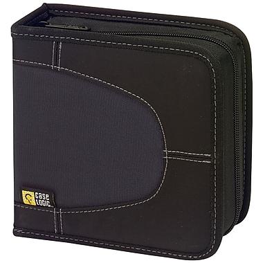 Case Logic® CDW-32 Nylon 32 Capacity CD Wallet, Black