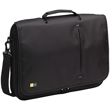 Case Logic® 13 3/4in. High 17in. Notebook Messenger Bag, Black
