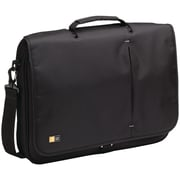Case Logic® 13 3/4 High 17 Notebook Messenger Bag, Black