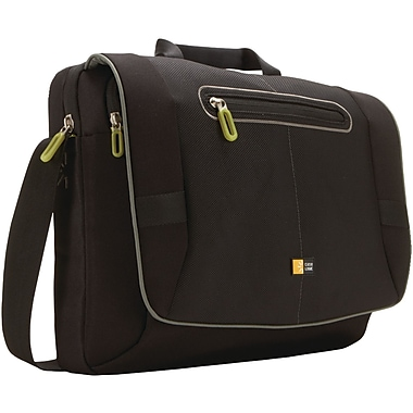 Case Logic® 17in. Notebook Messenger Bag, Black