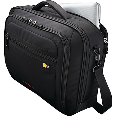Case Logic® 16in. Professional Notebook & iPad® Briefcase, Black