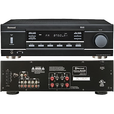 Sherwood Rx-4109 2 Channel Stereo Receiver With Phono Section