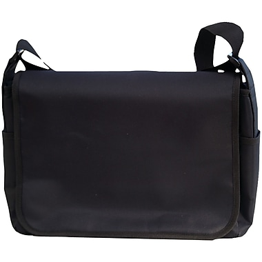 Jill-E® Carryall Camera Messenger Bag, Black