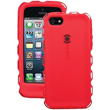 Speck® Toughskin Duo Case For iPhone 5, Pomodoro/Black