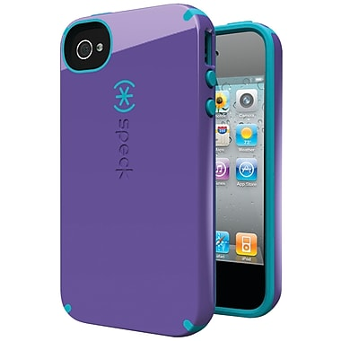 Speck® Candyshell Case For iPhone 4s, Aubergine/Peacock