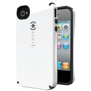 Speck® Candyshell Case For iPhone 4s, White/Charcoal