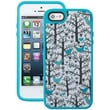 Speck® Fabshell Case For iPhone 5, Lovebirds Teal