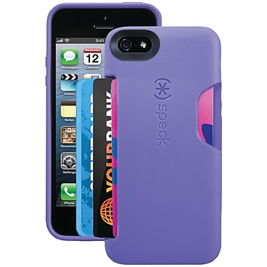Speck® Smartflex Card Case For iPhone 5, Grape Purple