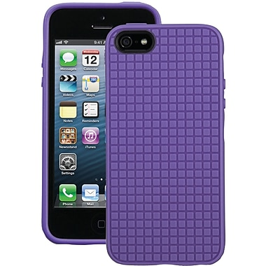 Speck® Pixelskin HD Case For iPhone 5, Grape Purple
