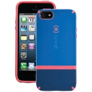 Speck® Candyshell Flip Case For iPhone 5, Harbor Blue/Dark Harbor Blue/Coral Pink