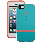 Speck® Candyshell Flip Case For iPhone 5, Pool Blue/Dark Pool Blue/Wild Salmon Pink
