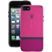 Speck® Candyshell Flip Case For iPhone 5, Raspberry Pink/Dark Raspberry Pink/Black