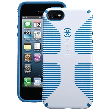 Speck® Candyshell Grip Case For iPhone 5, White/Harbor Blue