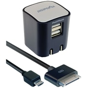 DigiPower® SP-AC200 2.1 amp Dual USB Rapid Wall Charger