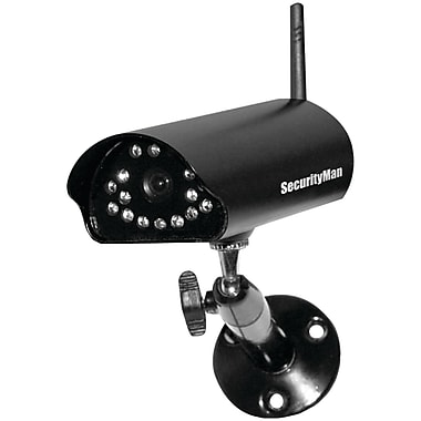 SecurityMan® SM-816DT Add-On Digital Indoor/Outdoor Wireless Camera With Night Vision And Audio