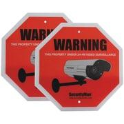 SecurityMan® Sign2PK-EN Surveillance Warning Signs