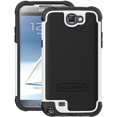 Ballistic® Case For Samsung Galaxy Note II, Black/White