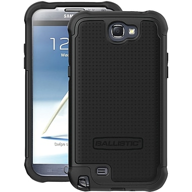 Ballistic® Case For Samsung Galaxy Note II, Black/Black