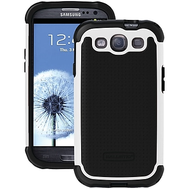 Ballistic® SG Series Case For Samsung Galaxy S III, Black/White