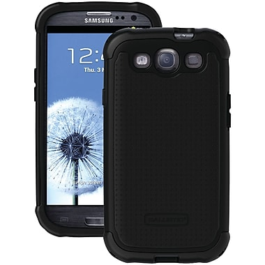 Ballistic® SG Series Case For Samsung Galaxy S III, Black/Black