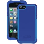 Ballistic® SG Case For iPhone 5, Navy Silicone/Navy/Cobalt PC