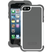 Ballistic® SG Case For iPhone 5, Charcoal Silicone/Charcoal/ White PC