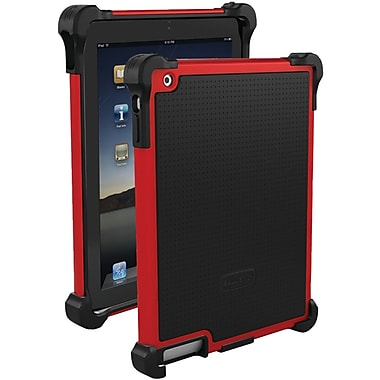 Ballistic® Tough Jacket For iPad 2, Black/Red