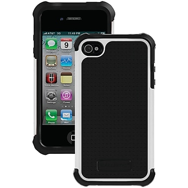 Ballistic® SG Case For iPhone 4/4S, Black/White