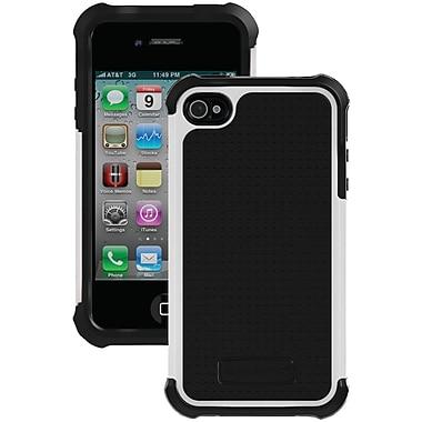 Ballistic® SG Case For iPhone 4/4S, Black/White