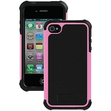 Ballistic® SG Case For iPhone 4/4S, Black/Pink