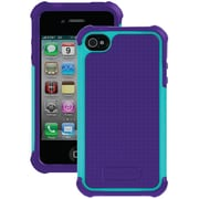 Ballistic® SG Series Case For iPhone 4/4S, Purple/Teal