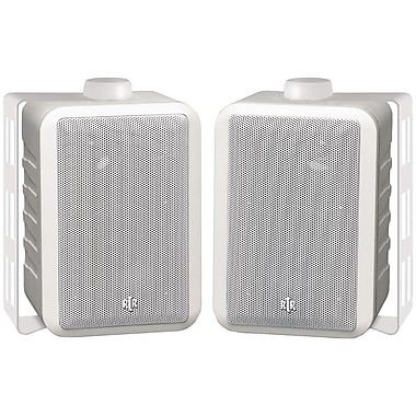 Bic America RtR Indoor/Outdoor 3 Way Speaker, White