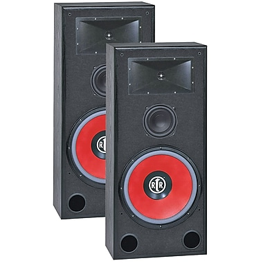 Bic America Eviction Bi-Ampable Floor Speaker With High-efficiency Horn Tweeter
