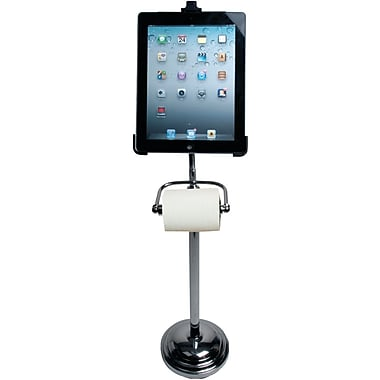 CTA® Digital PAD-TSB Pedestal Stand for iPad 2 and iPad, Elegant Chrome