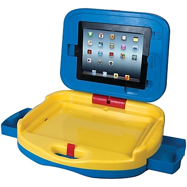 CTA CTAPADKDC Activity Case for Apple iPad 2/3/4, Blue/Yellow