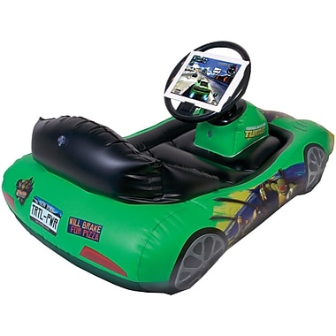 CTA® Digital Teenage Mutant Ninja Turtles Inflatable Sports Car For iPad 3