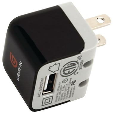 Griffin NA23085 Universal Micro for USB-Charging Device for Smartphone, GPS, Camera and MP3 Players, Black