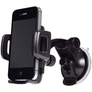 Merkury M-UPW110 Universal Smartphone Windshield Car Mount, Black