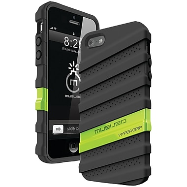 Musubo™ Hyper Grip Case For iPhone 5, Black