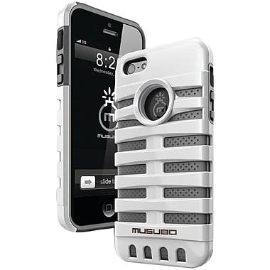 Musubo™ Retro Case For iPhone 5, White