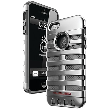Musubo™ Retro Case For iPhone 5, Silver
